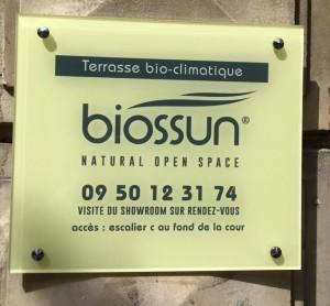 Plaque biossun